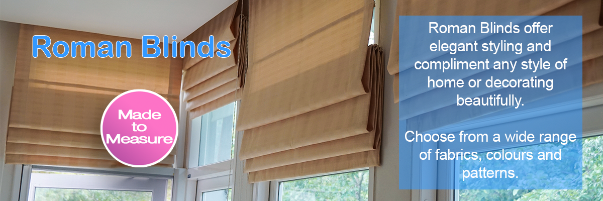 Roman Blinds - Lined