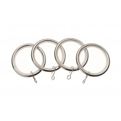 Satin Steel Ring (Pack of 4)