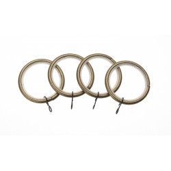 Antique Brass Ring (Pack of 4)
